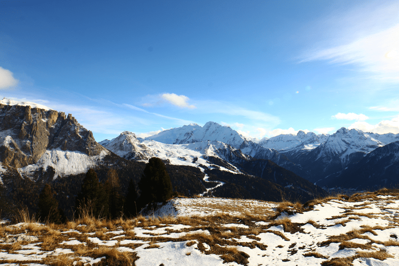 hiking in northern italy