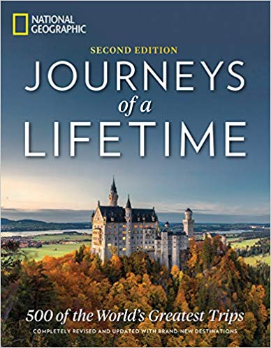 Journey's of a Lifetime is one of the  great travel-inspired Valentine's Day gifts