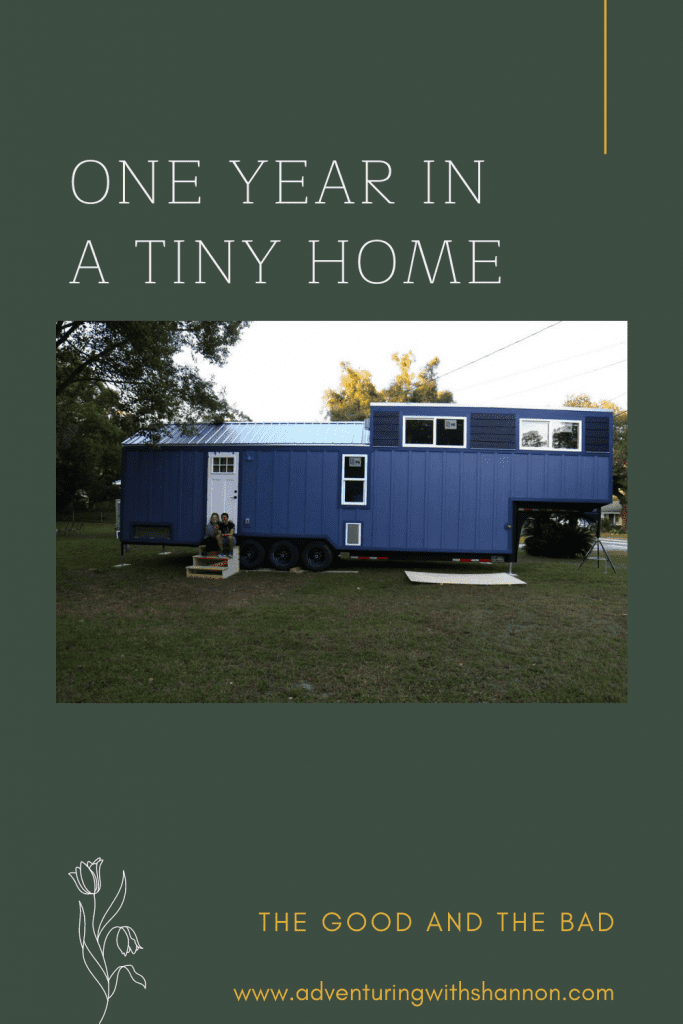 One year in a tiny house  #tinyhome #tinyhouse