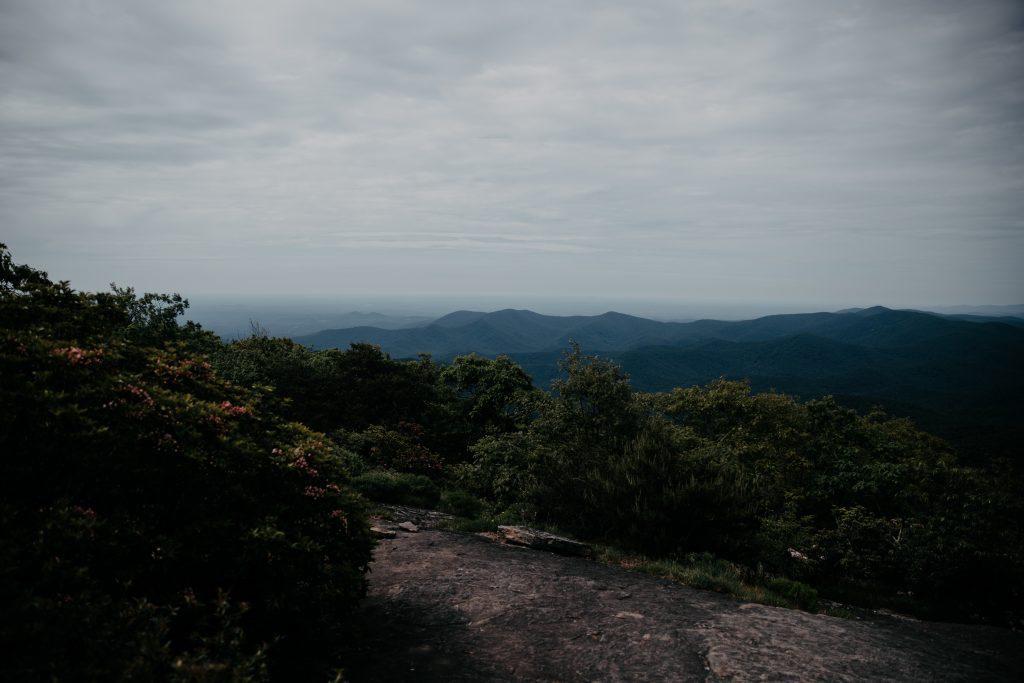 blood mountain summit