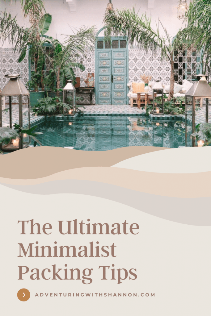 As travel experts, we have come together to create the ultimate list of minimalist packing tips to help you plan for your next trip. #minimalism #travel #minimalist travel