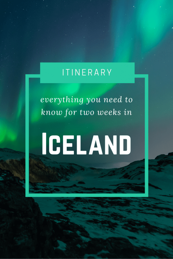 Here is the perfect two week Iceland itinerary to help you while you plan your dream trip to this incredible country. #iceland #icelandtravel #icelanditinerary