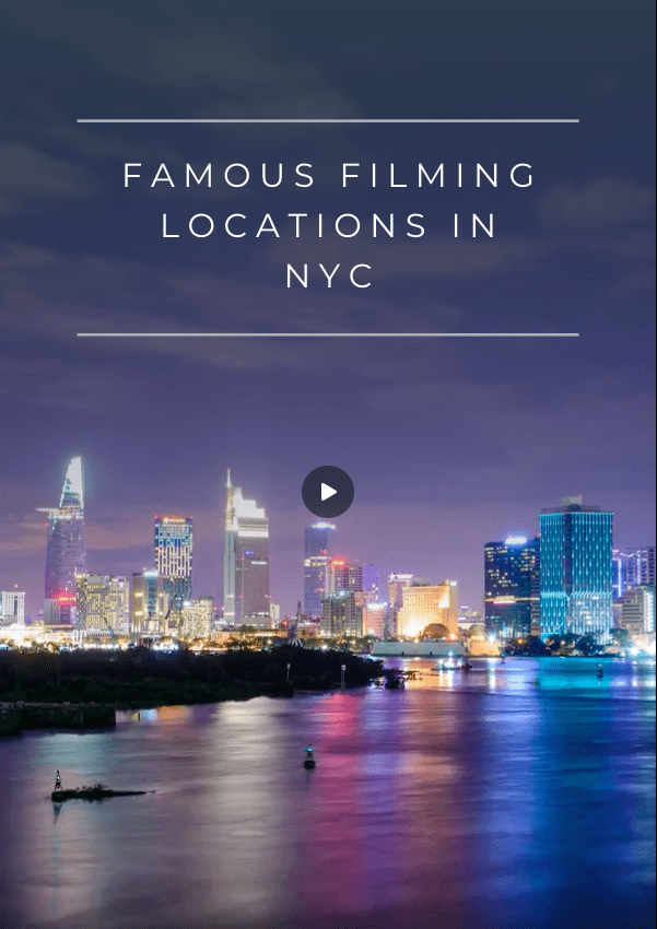As you plan your route around NYC, check out these famous New York City filming locations that you'll recognize from movies and tv! #newyork #nyc #nyctravel #newyorktravel